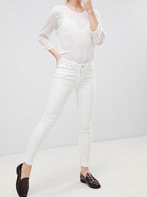 Blend She Bright Ora Himmelsblå skinny jeans Kritvit