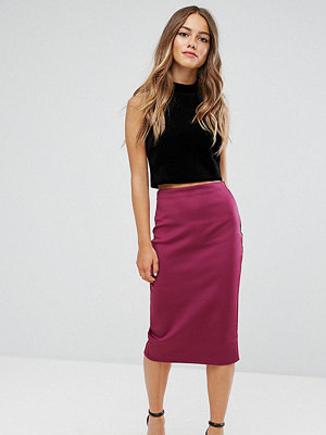 ASOS Petite Scuba Pencil Skirt