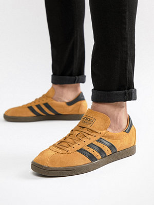 Adidas Originals Tobacco Trainers In Yellow CQ2761
