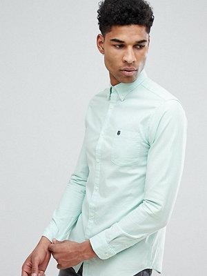 Selected Homme TALL Regular Button Down Oxford Shirt - Ocean wave
