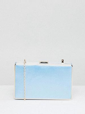 Chi Chi London kuvertväska Squared Clutch Bag - Bluebelle