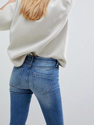 Blend She Moon May Smala jeans Med blue denim