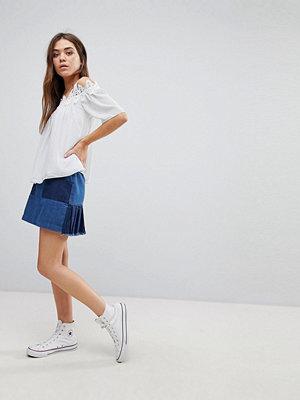 After Market Denim Mini Skirt