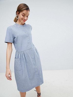 Selected Stripe Shirt Dress