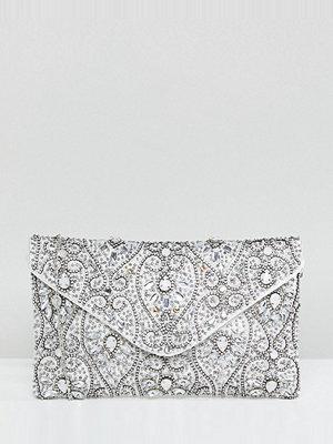 True Decadence kuvertväska Beaded Envelope Clutch Bag