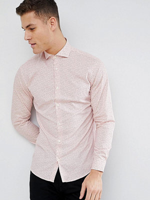 Selected Homme Slim Fit Smart Shirt With All Over Print