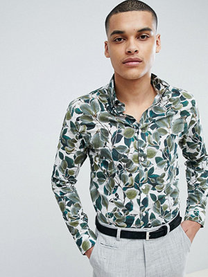 Selected Homme Selected Homme+ Slim Fit Shirt With All Over Print