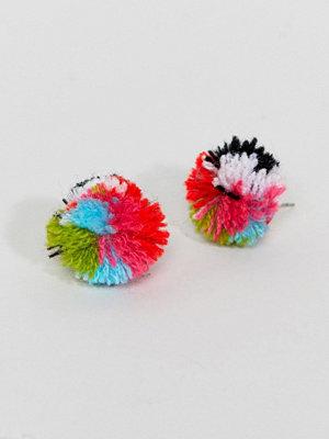 ASOS örhängen DESIGN Pom Stud Earrings
