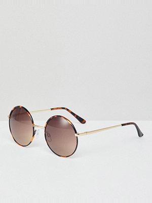 Monki Oversize Round Sunglasses