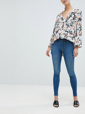 French Connection Rebound Skinny jeans Pine blue