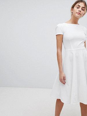 Closet London Short Sleeve Prom Skater Dress