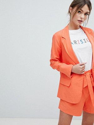 Oasis Tailored Jacket - Red orange