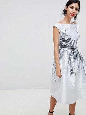 Little Mistress Jacquard Midi Dress
