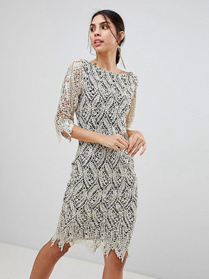 Paper Dolls 3/4 Sleeve Sequin Dress