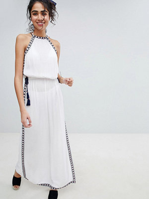 New Look Halter Stitch Maxi Beach Dress
