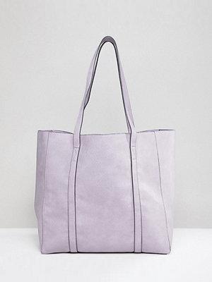 Accessorize axelväska lilac oversized tote bag