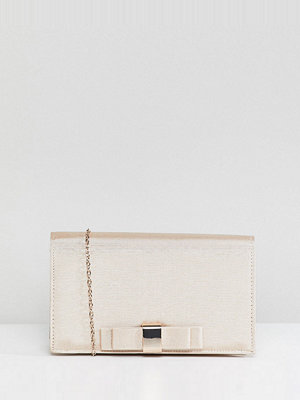Accessorize kuvertväska Perri champagne bow clutch