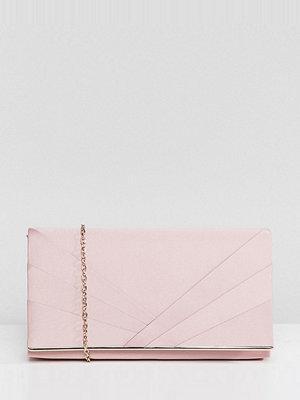 Accessorize kuvertväska Kate pink foldover clutch