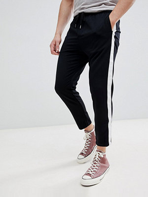 Byxor - Pull&Bear Tailored Trousers With Side Stripe