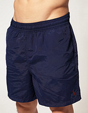 Badkläder - Polo Ralph Lauren Marinblåa badshorts med hawaiimönster