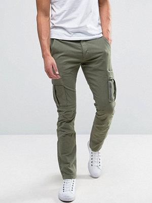 Byxor - Selected Homme Slim Fit Cargo Trouser