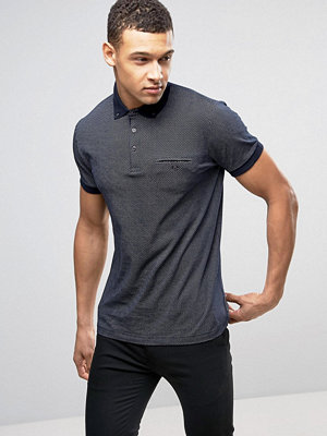 Pikétröjor - French Connection Ditzy Polo Shirt