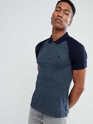 Pikétröjor - French Connection Raglan Polo Shirt