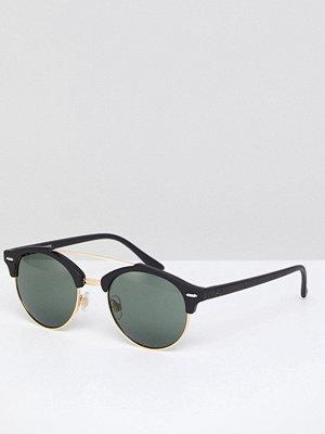 Solglasögon - Jack & Jones Round Sunglasses In Black
