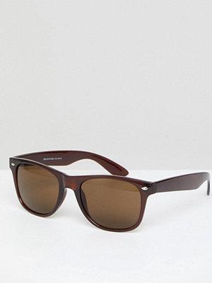 Solglasögon - Selected Homme Square Sunglasses
