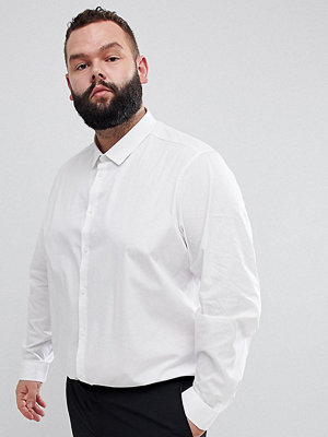 ASOS DESIGN Plus Stretch Regular Fit Shirt