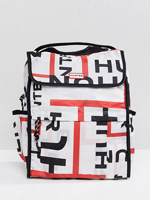 Hunter ryggsäck Original Foldable Backpack in Logo Print