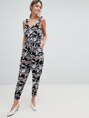 Oasis Jumpsuit med tropiskt mönster Flerfärgad