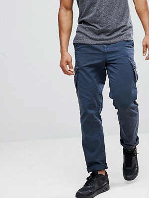 Byxor - Solid Cargo Trouser With Belt
