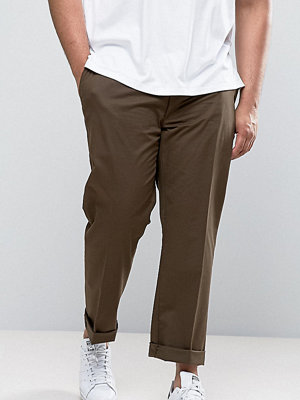 Polo Ralph Lauren Big & Tall Chinos Stretch Twill in Brown - Vintage brown