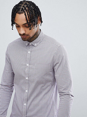 ASOS DESIGN Smart Skinny Cvc Check Shirt