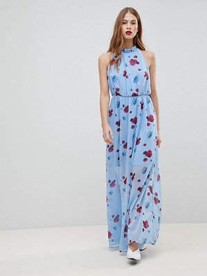 Y.a.s Poppy Print Woven Maxi Dress