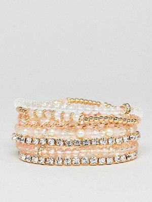 Aldo armband Blush Multipack Friendship Bracelets - Blush
