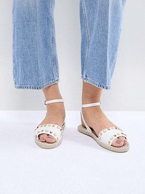 Miss Selfridge Studded Espadrille Sandals