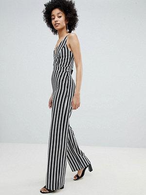 Miss Selfridge Stripe Wide Leg Cami Jumpsuit
