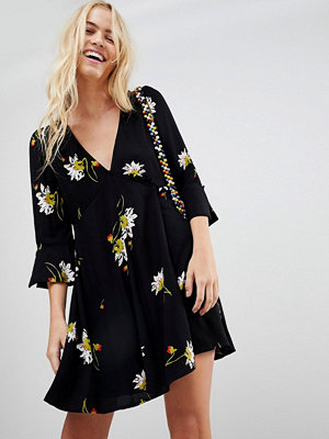 Free People Time On My Side floral print dress