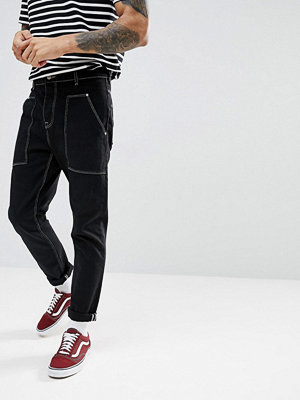 ASOS Tapered Jeans In Recycled Cotton