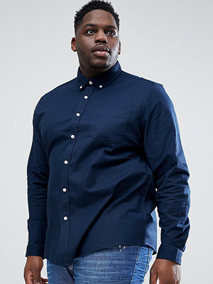 ASOS DESIGN Plus stretch regular oxford shirt