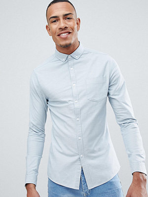 ASOS DESIGN Tall casual skinny oxford shirt