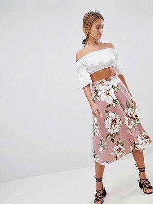 Gilli Floral Midi Skirt