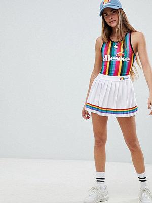Ellesse Tennis Skirt With Rainbow Pleats