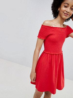Only Smock Short Sleeve Dress