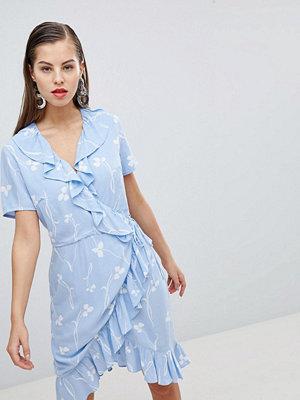 Y.a.s Clover Print Wrap Dress - Multi