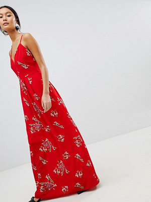 Parisian Floral Cami Maxi Dress