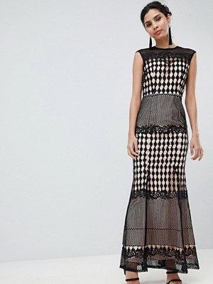 Little Mistress Crochet Maxi Dress