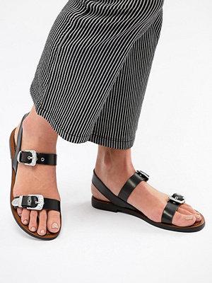 Pull&Bear western buckle sandal